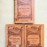 Ion Ghica – Scrisori catre V. Alecsandri vol. 1, 2, 3 (editie interbelica) - Carte veche