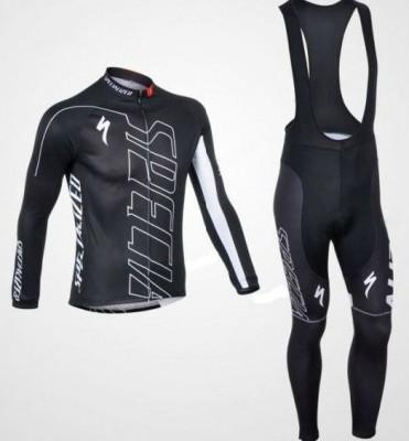 Echipament ciclism Specialized subtire toamna primavara lung negru nou bluza foto