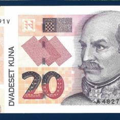 Croatia 20 Kuna 2014 P-44 - bancnota europa