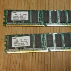 Ram PC Samsung 256 MB DDR1 400 MHz M368L3223FTN-CCC - Memorie RAM