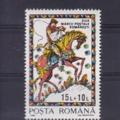 ROMANIA 1993, LP 1312, ZIUA MARCII POSTALE ROMANESTI MNH - Timbre Romania, Nestampilat