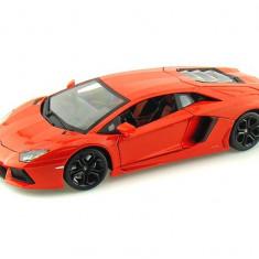 Lamborghini Aventador LP 700-4 - Portocaliu metalizat - 1:18