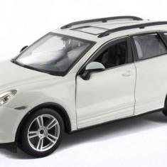 Porsche Cayenne Turbo - Alb - Minimodel auto 1:24 Star Collezione - Masinuta Bburago