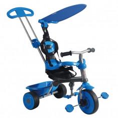 Tricicleta Galaxy 3 in 1 TRIKE STAR - ALBASTRU - Tricicleta copii
