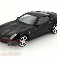 Ferrari 599 GTB Fiorano - negru - 1:43 Race & Play - Masinuta Bburago