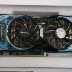 Placa video Gaming GIGABYTE Radeon HD6850 OC 1GB DDR5 256-bit DX11 Hdmi Box - Placa video PC Gigabyte, PCI Express, Ati