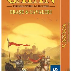 Extensie Catan Orase si cavaleri 5-6 jucatori NOU - Sigilat