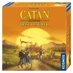 Extensie Catan Orase si cavaleri 3-4 jucatori NOU Sigilat - Joc board game