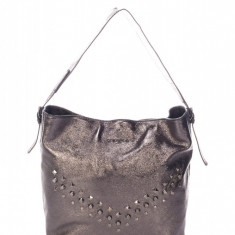 Geanta NICOL bronz din piele - Geanta Dama