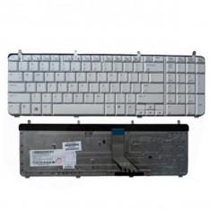 Tastatura laptop HP Pavilion DV7-2000 white