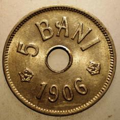 2.722 ROMANIA 5 BANI 1906 J XF - Moneda Romania, Cupru-Nichel