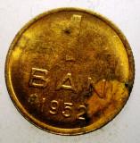 2.636 ROMANIA RPR 1 BAN 1952