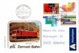ELVETIA 1991, Locomotiva - Zermatt