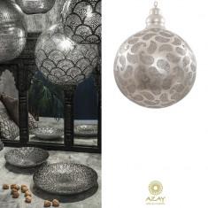 Corp iluminat argintat Shape Medium - Corp de iluminat