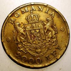 2.700 ROMANIA MIHAI I 2000 LEI 1946 - Moneda Romania, Alama