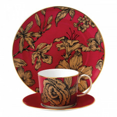 Set 3 piese Pink Floral Vibrance