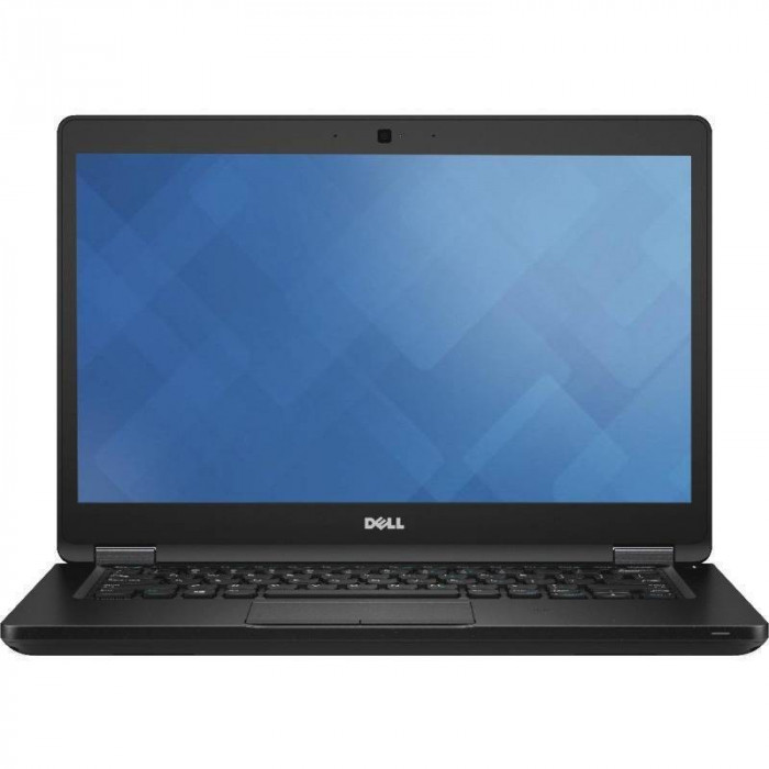 Laptop Dell Latitude 5480 14 inch Full HD Intel Core i7-7820HQ 32GB DDR4 512GB SSD FPR Linux Black foto mare