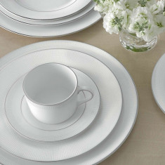Set ceai 12 persoane Blanc sur Blanc - Ceasca
