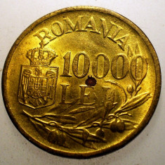 2.632 ROMANIA MIHAI I 10000 LEI 1947 - Moneda Romania, Alama