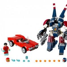 Iron Man Atacul lui Detroit Steel LEGO Marvel Super Heroes (76077)