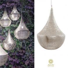 Corp iluminat argintat Bella Filisky Medium - Corp de iluminat