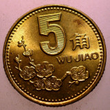 2.683 CHINA 5 JIAO 1993 XF/AUNC, Asia