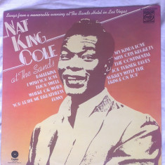 Nat King Cole – At the Sands (Vinyl/LP) - Muzica Jazz capitol records, VINIL
