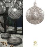 Corp iluminat argintat Shape Large, Pendule