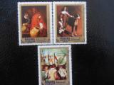 Serie timbre pictura VELASQUEZ stampilate Manama timbre arta timbre picturi, Stampilat