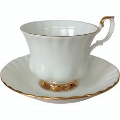 Set 2 cesti cu farfurii ceai/cafea Val D'or - Ceasca