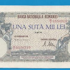 100000 lei 1946 28 Mai 16 aUNC - Bancnota romaneasca