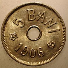 2.719 ROMANIA 5 BANI 1906 J XF - Moneda Romania, Cupru-Nichel