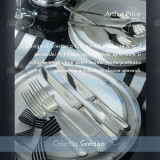 Tacamuri Inox Sovereign® set 12 persoane (88 piese)