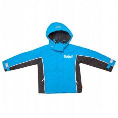 Jacheta cu gluga pentru copii Scout, Albastru/Negru