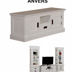 Stand TV cu un sertar, doua usi si o nisa Antwerp - Comoda living