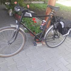 Biciclete - Bicicleta de oras, 26 inch, Numar viteze: 7