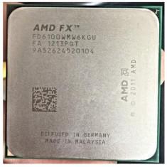 Procesor Gaming AMD Bulldozer, FX-6100 3.3GHz - Procesor PC AMD, AMD FX, Numar nuclee: 6, Peste 3.0 GHz, AM3+