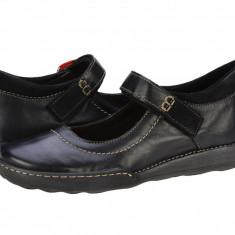 Pantofi casual dama Iris Mozard nero 215116NERO - Pantof dama, Marime: 40, Cu talpa joasa