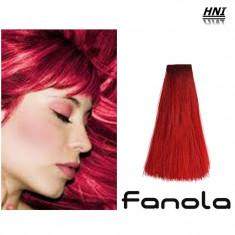Vopsea de par intensificator rosu Fanola