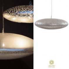 Corp iluminat argintat Gabs Filigrain Medium - Corp de iluminat