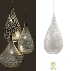 Corp iluminat argintat Elegance Filisky Small - Corp de iluminat