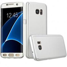 Husa de protectie 360 slim, Mad, pentru Samsung Galaxy S7 Edge, Argintiu