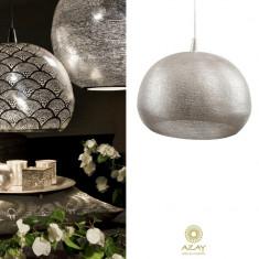 Corp iluminat argintat Loaf Filisky XL - Corp de iluminat