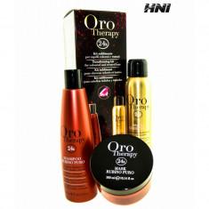 Kit pentru par vopsit Oro Therapy Rubino