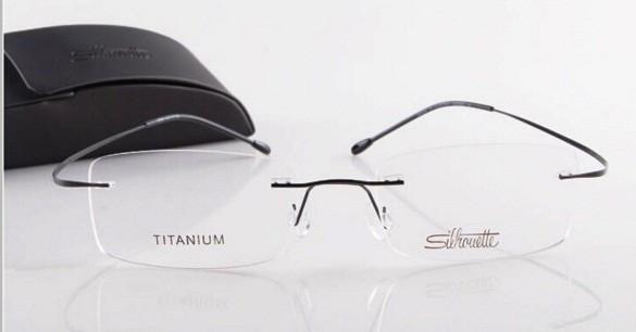 Rama ochelari de vedere, rama stil  Silhouette 03109858, rama flexibil foto mare