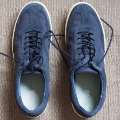 Pantofi barbati Camper - marime 44, noi, nepurtati, Culoare: Albastru