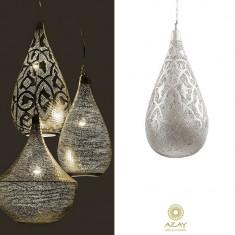 Corp iluminat argintat Elegance Filigrain Large - Corp de iluminat