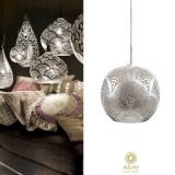 Corp iluminat argintat Loaf Fan Mini, Pendule