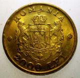 2.606 ROMANIA MIHAI I 2000 LEI 1946 XF EROARE, Alama