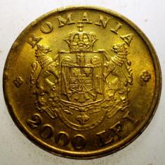 2.606 ROMANIA MIHAI I 2000 LEI 1946 XF EROARE - Moneda Romania, Alama